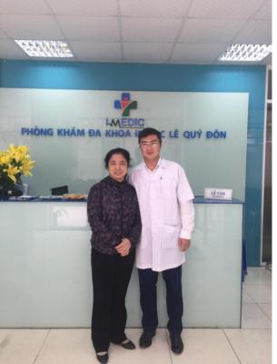 Tổng biên tập Đỗ Thị Thanh Nhã - Đau mỏi khớp