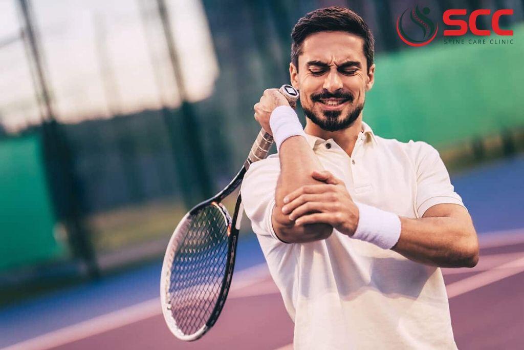 dấu hiệu đau khuỷu tay tennis