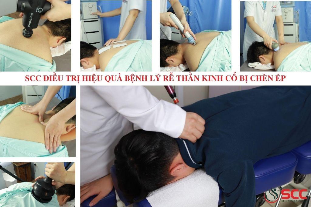 khám và điều trị hiệu quả rễ thần kinh cổ bị chèn ép