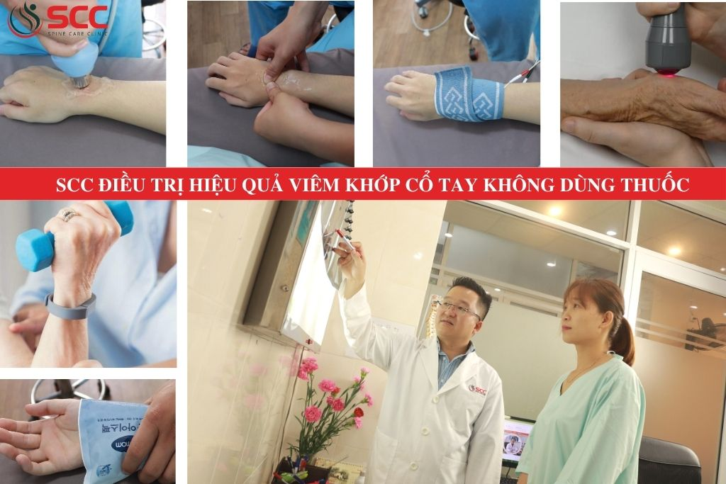 khám và điều trị hiệu quả viêm khớp cổ tay
