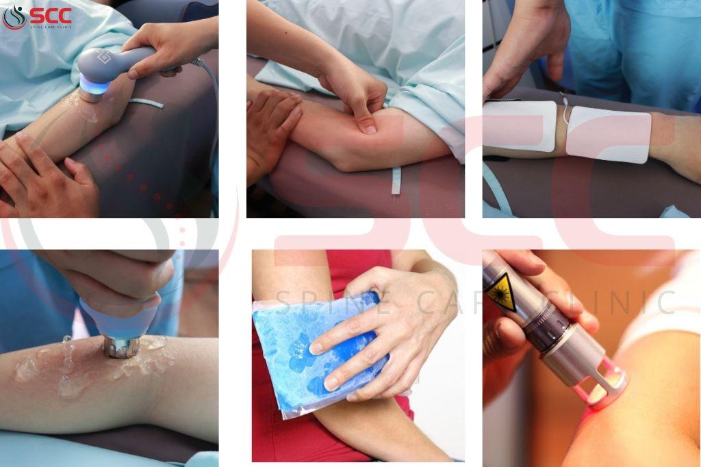 điều trị viêm mỏm lồi cầu ngoài xương cánh tay