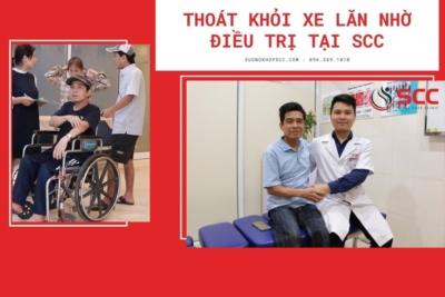 Thoát khỏi xe lăn nhờ điều trị tại SCC - Chia sẻ của chú Phạm Đình Giang