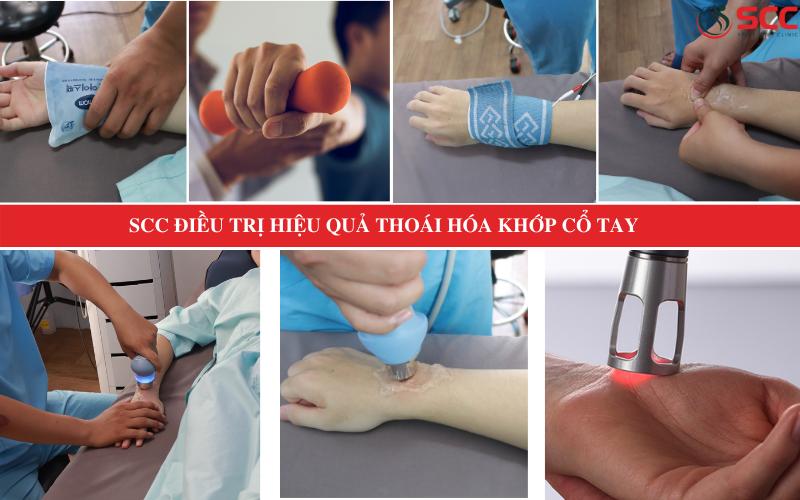 khám và điều trị thoái hóa khớp cổ tay hiệu quả