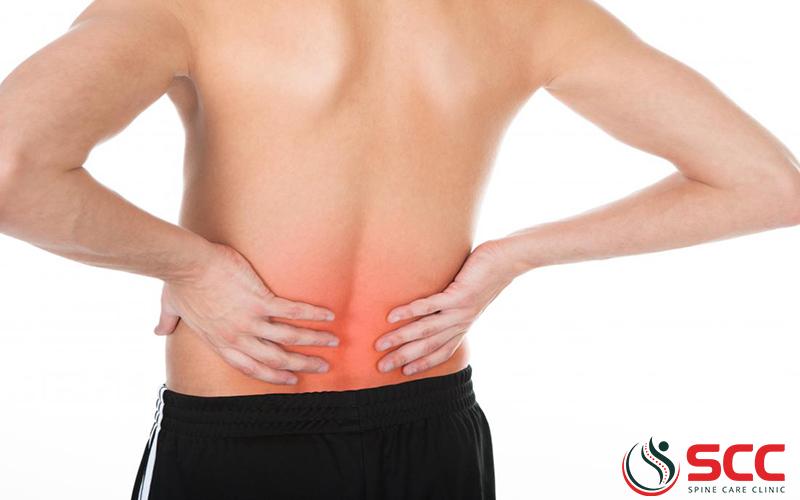 thoái hóa thắt lưng gây đau