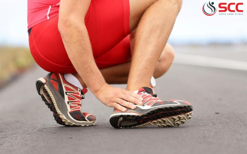 hội chứng ống cổ chân sau triệu chứng