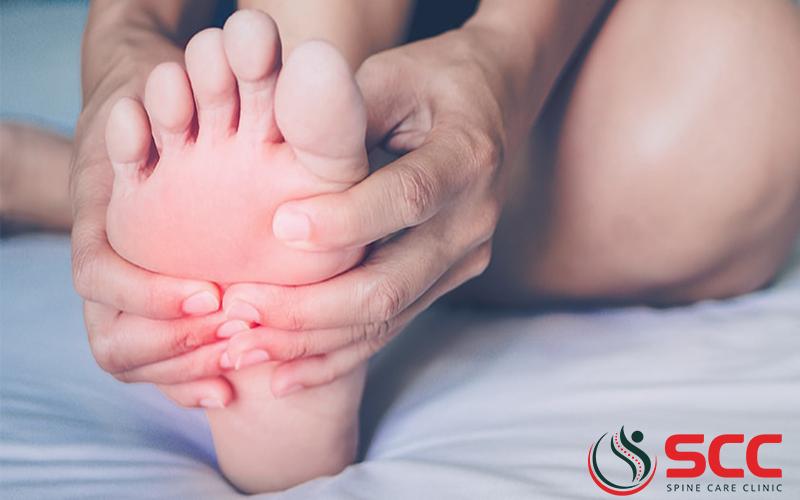 điều trị thoái hóa khớp ngón chân giữa