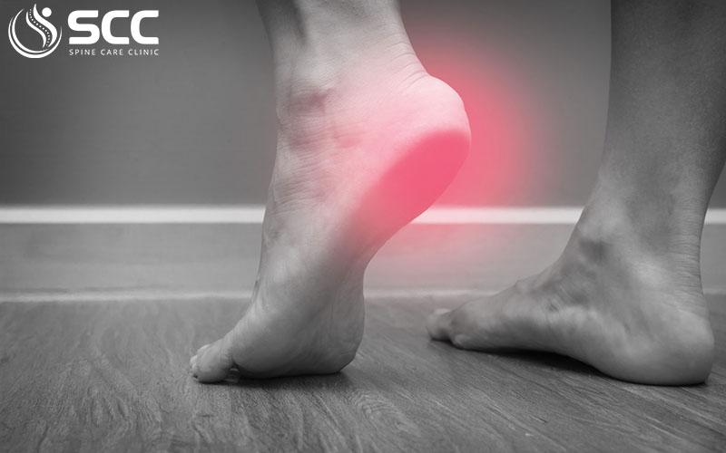 thoái hóa gót chân gây đau